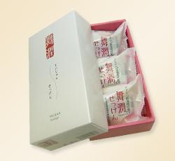 日本制香皂「舞潤香皂」。3個
