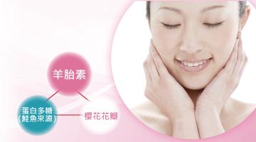 貴婦人HANA羊胎素是配合新西蘭羊胎素,日本製造美容保健食品