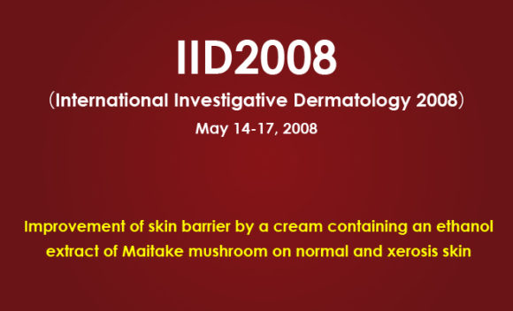 Improvement of skin barrier by a cream containing an ethanol extract of Maitake mushroom on normal and xerosis skin