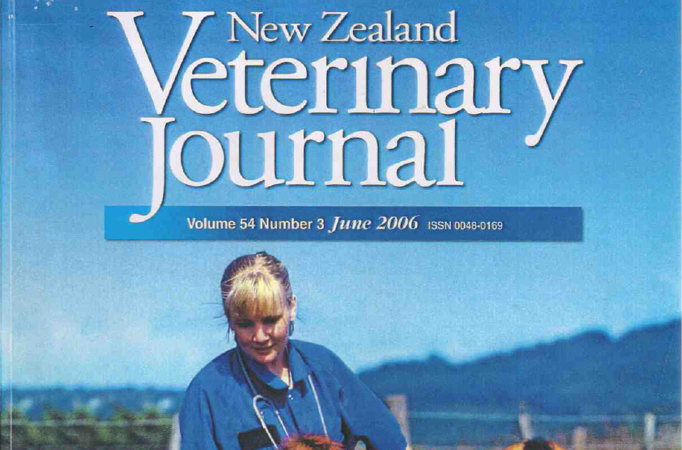 Effect of Green Lipped Mussel Extract on degenerative joint disease of dogs