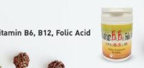 วิตามินบี6 บี12 กรดโฟลิก (Vitamin B6, B12, Folic Acid)