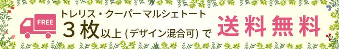 トレリスクーパーマルシェトートは3枚以上のお買い上げで送料無料です。