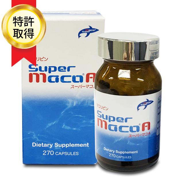 スーパーマコA - 鮫抽出脂質と亜麻仁油配合の健康サプリメント