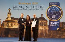 舞潤クリームが2014年モンドセレクションで金賞を受賞しました!